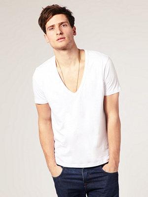 T-shirts - ASOS T-Shirt With Deep V Neck