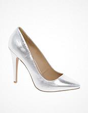 ASOS PARIS Metallic Pointed High Heels