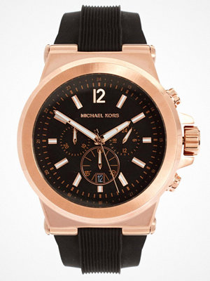 Klockor - Michael Kors MK8184 Oversized Dylan Silicone Chronograph Watch