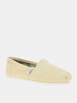 Tygskor & lågskor - Toms Classic Canvas Black Flat Shoes - Black canvas