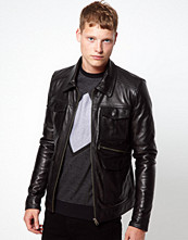 Jackor - Barneys Originals Barney's Premium Leather Jacket