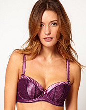 BH - Fauve Coco Padded D-G Half Cup Bra - Mulberry