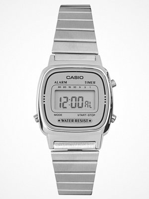 Klockor - Casio Silver Mini Digital Watch LA670WEA-7EF