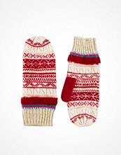 ASOS Lambswool Mix Fairisle Mittens