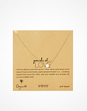 Dogeared Gold Filled Pearls Of Love Necklace