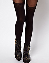 ASOS Tights With Decorative Suspender Detail