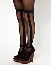 House of Holland For Pretty Polly Stripe Over The Knee Tights