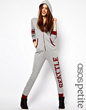 ASOS PETITE Exclusive College Onesie