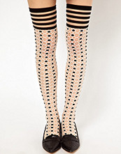 Eley Kishimoto Dot Cross Knee Socks