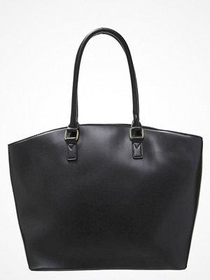 Even&Odd svart shopper Shoppingväska black