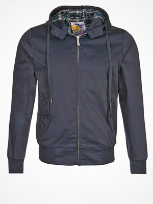 Jackor - HARRINGTON HARRINGTON HOODED blå