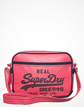 Superdry ALUMNI MINI BAG Ljusrosa