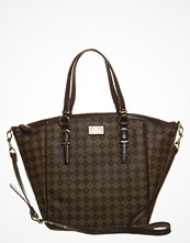 Paris Hilton CHIC-CHECKS TOTE Brunt