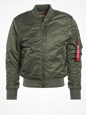 Jackor - Alpha Industries Bomberjacka green
