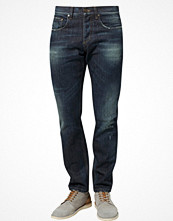 Jeans - Moods Of Norway OLA WORKER Jeans straight leg Blått