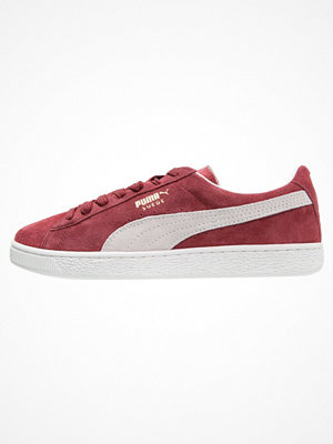 Puma SUEDE CLASSIC+ Sneakers bordeaux/beige