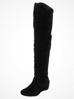 Anna Field Stövlar med kilklack black