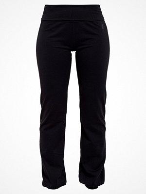Curare Yogawear LONG PANTS ROLL DOWN Träningsbyxor black