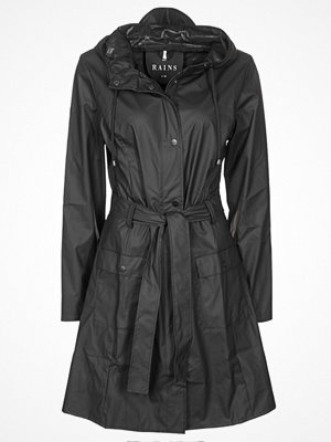 Rains CURVE JACKET Parkas black