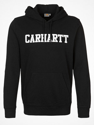 Carhartt WIP COLLEGE Luvtröja black/white