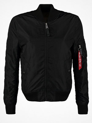 Jackor - Alpha Industries Bomberjacka black