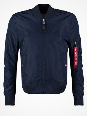 Jackor - Alpha Industries Bomberjacka replica blue