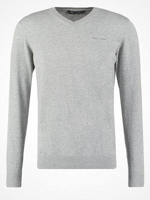 Teddy Smith PULSER Stickad tröja gris chine