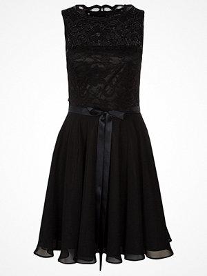 Swing Cocktailklänning schwarz