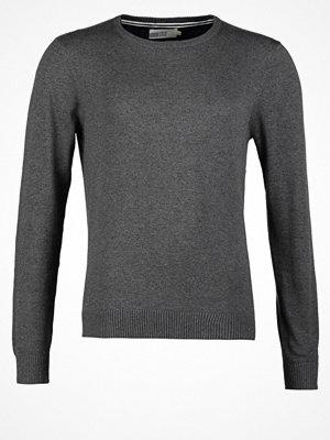 Pier One Stickad tröja dark grey melange