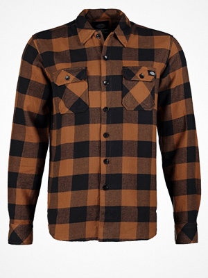 Dickies SACRAMENTO Skjorta brown duck