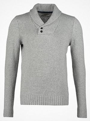 Pier One Stickad tröja grey melange