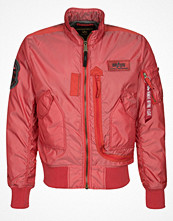 Jackor - Alpha Industries ENGINE Allvädersjacka spicy red