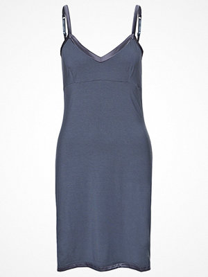Nattlinnen - Calvin Klein Underwear MODAL WITH SATIN Nattlinne stone lead