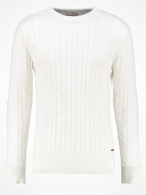 Knowledge Cotton Apparel Stickad tröja offwhite