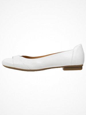 Gabor Ballerinas white