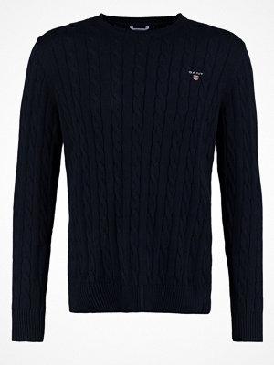 Gant CABLE CREW Stickad tröja evening blue