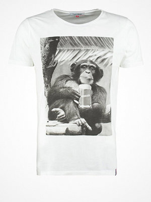 French Kick MONKEY COOL Tshirt med tryck white