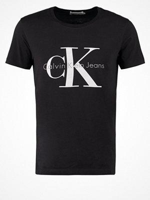 Calvin Klein Jeans Tshirt med tryck meteorite