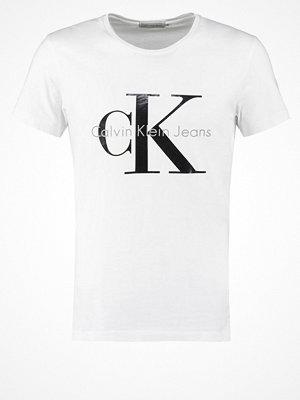 Calvin Klein Jeans Tshirt med tryck bright white