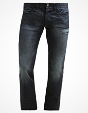 Jeans - Edc by Esprit Jeans straight leg dark blue tinted