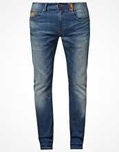 Jeans - Superdry CORPORAL SLIM Jeans slim fit hobo blue