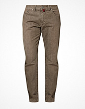 Jeans - Pierre Cardin Jeans straight leg brown