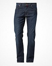Jeans - Pierre Cardin Jeans straight leg blue denim