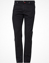 Jeans - Pierre Cardin Jeans straight leg black denim