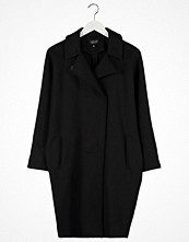 Topshop DUSTER Kort kappa / rock black