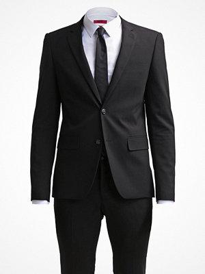 Lindbergh SLIM FIT BASIC SUIT Kostym black