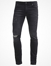 Jeans - Cheap Monday TIGHT Jeans slim fit posted worn black
