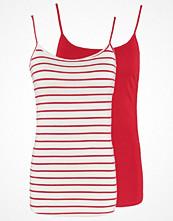 Zalando Essentials 2 PACK Linne white/red/red