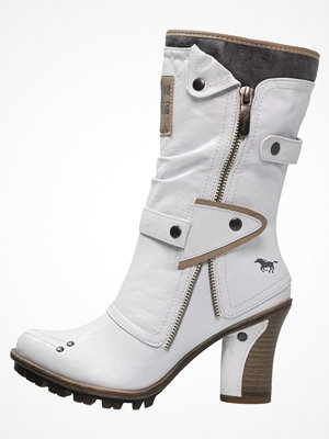 Mustang Cowboy / Bikerboots offwhite