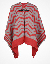 Topshop Poncho red